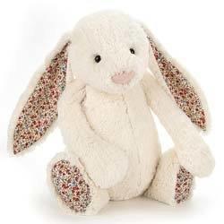 Huge Blossom Cream Bunny
