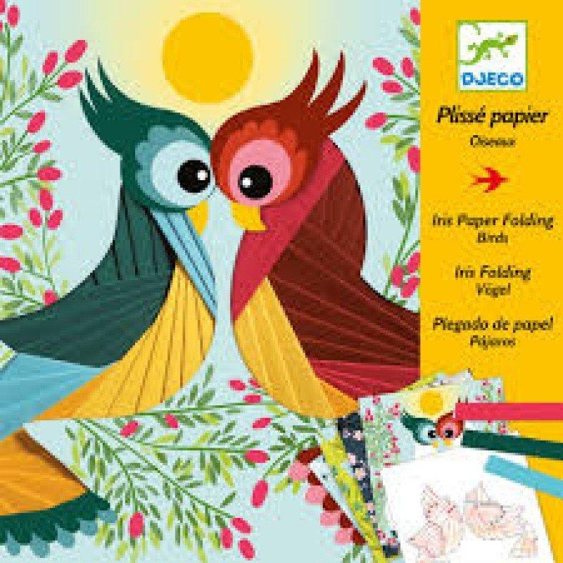 Iris Folding Paper Birds