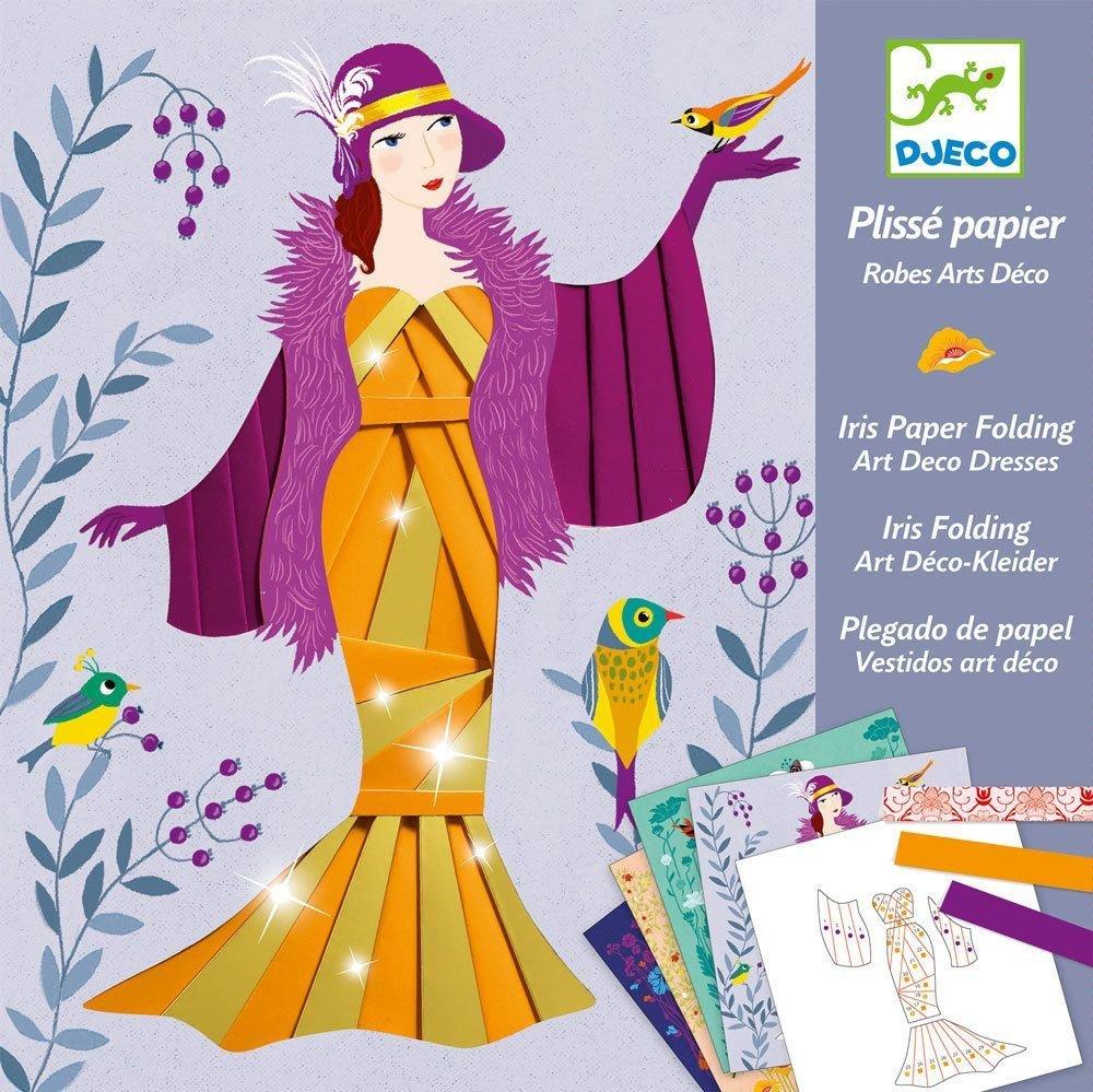 Iris Paper Folding Dresses