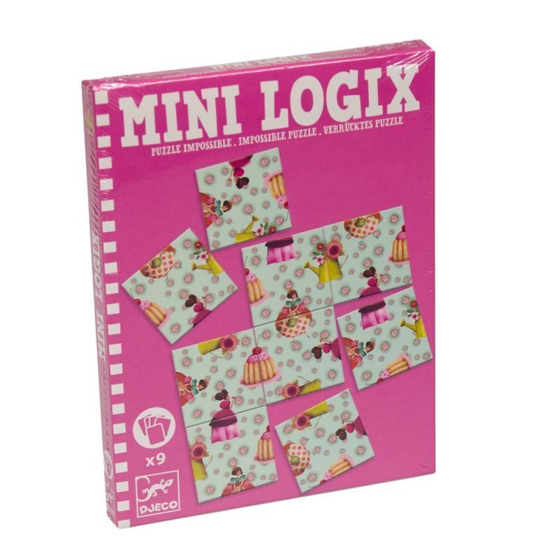 Mini Logic Impossible Puzzle Pink