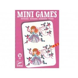 Mini Games Differences Pink