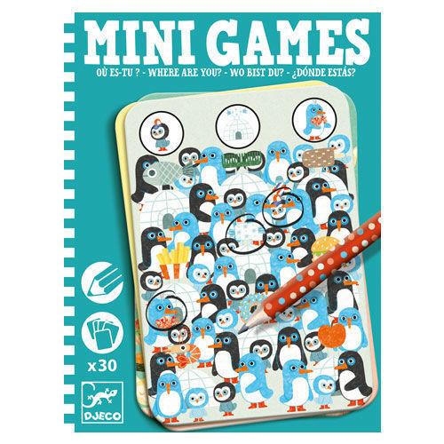 Mini Games Where Are You