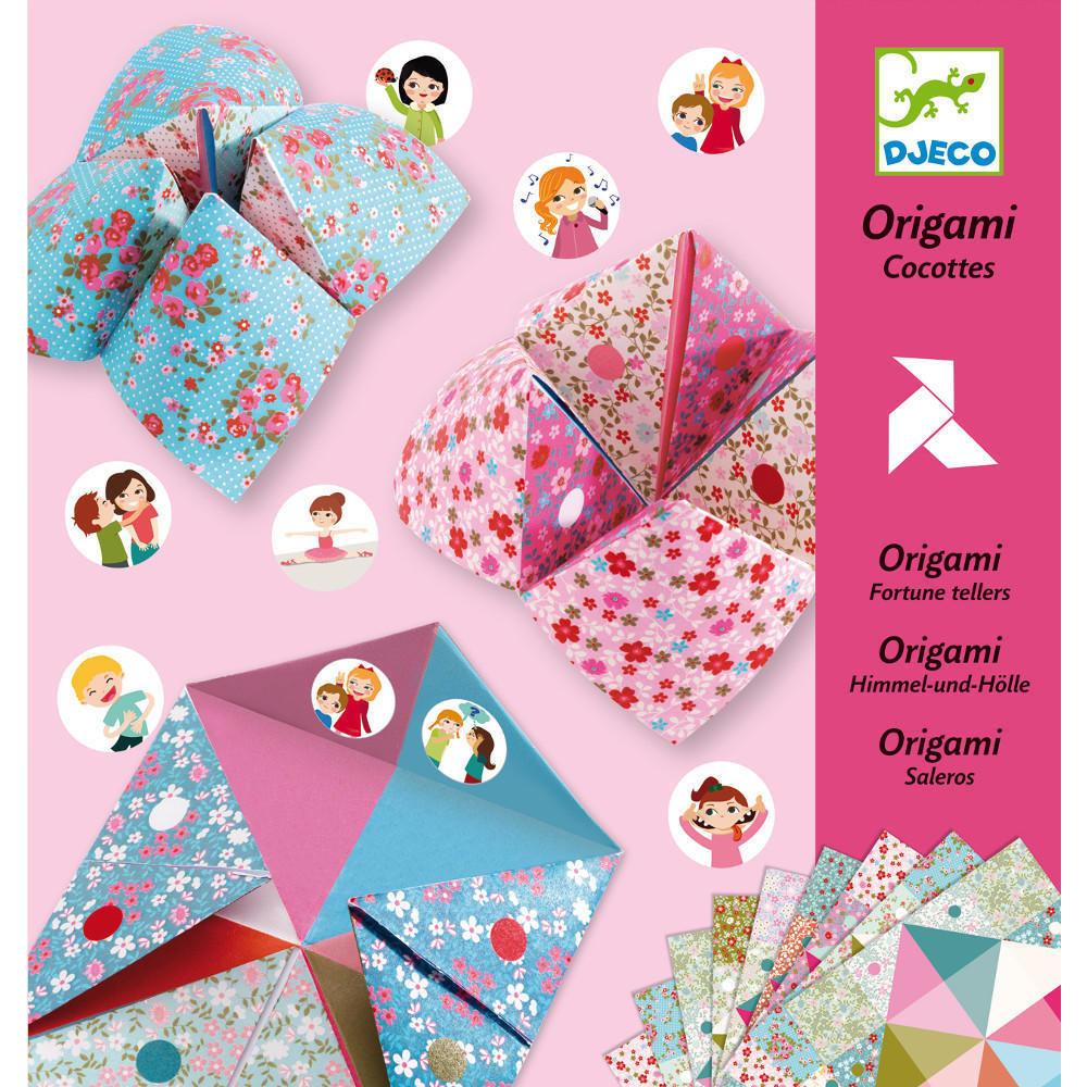 Origami Fortune Tellers Flowers