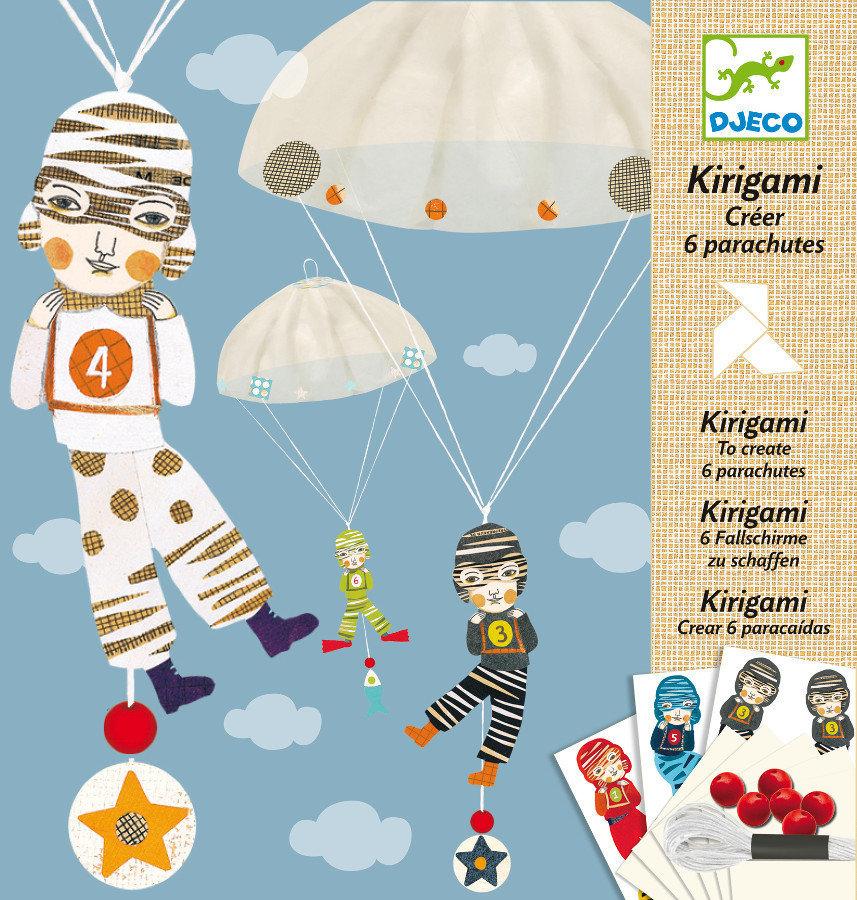 Origami Parachutes