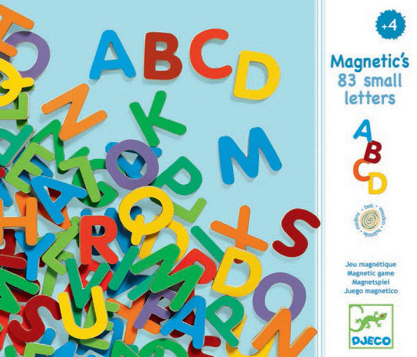 Magnetic 38 Big Letters