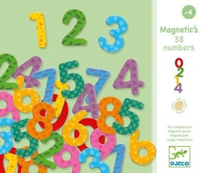 Magnetic 38 Numbers