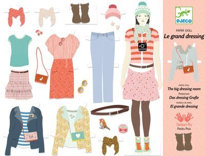 Paper Doll Wardrobe