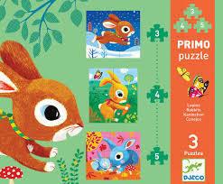 Primo Puzzles Rabbits
