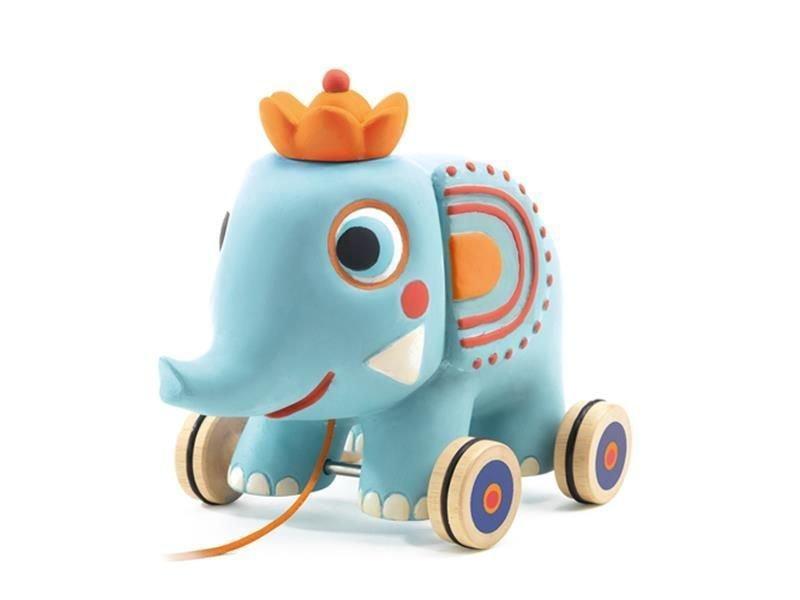 Pull Along Elephant Zéphir