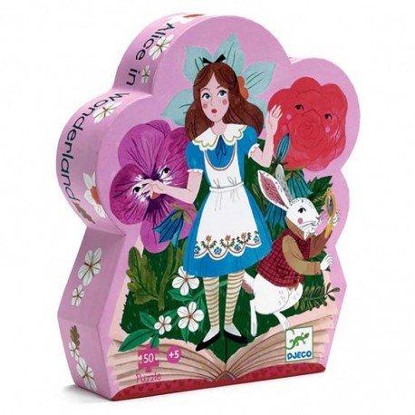 Puzzle Alice Wonderland