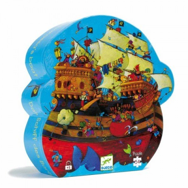 Puzzle Barbarosa Boat