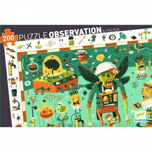 Puzzle Crazy Lab
