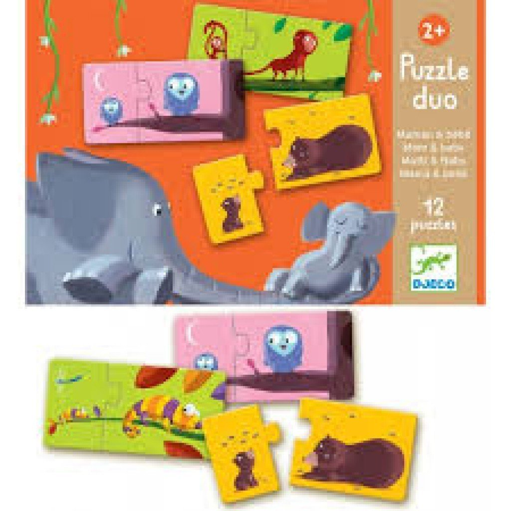 Puzzle Duo Mom & Baby