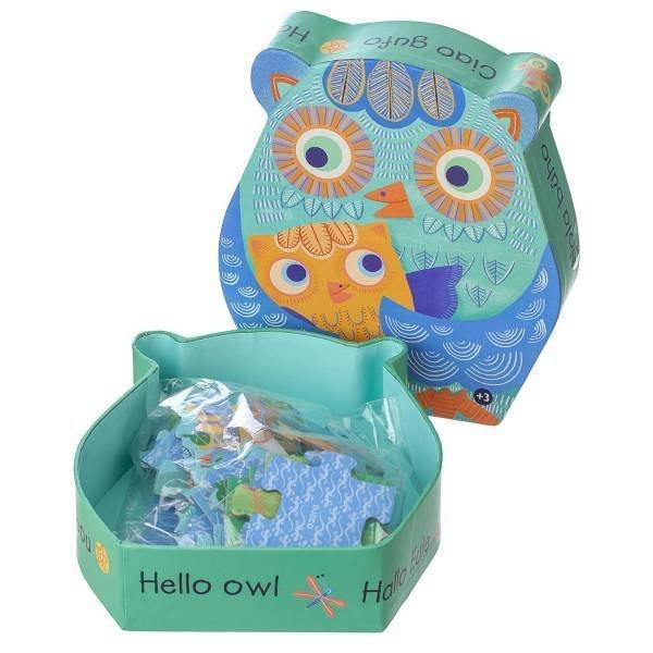Puzzle Hello Owl