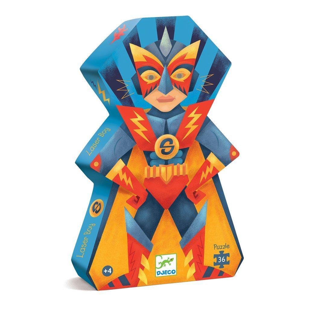 Puzzle Laser Boy