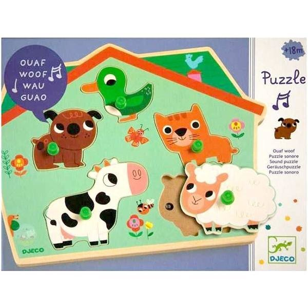 Sound Puzzle Ouaf Woof