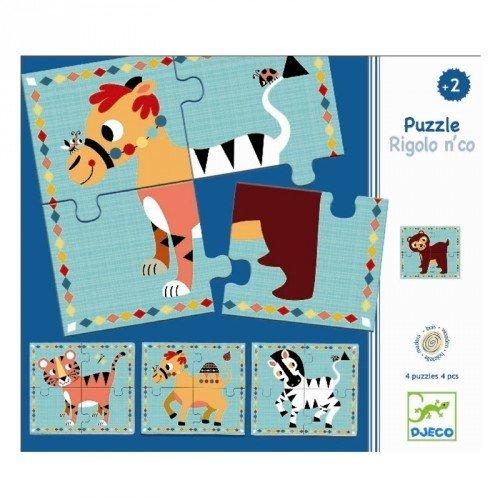 Puzzle Rigolo & Co