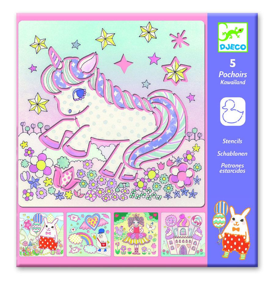 Stencils Unicorn