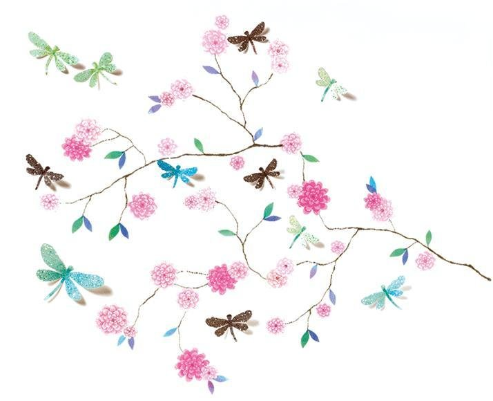 Wall Stickers Dragonflies