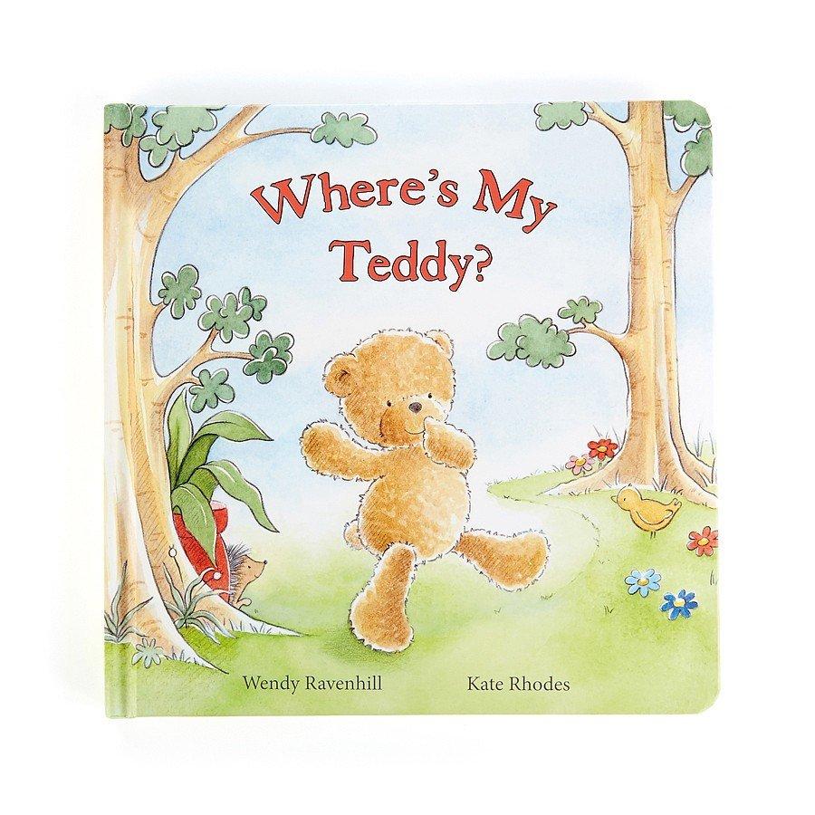 Where's My Teddy Book