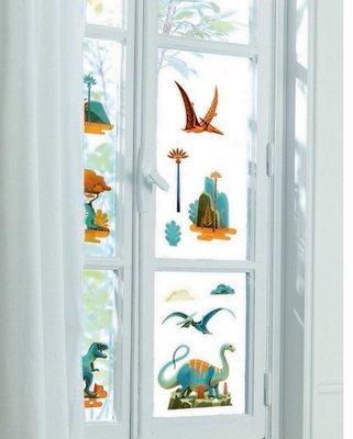 Window Stickers Dinos