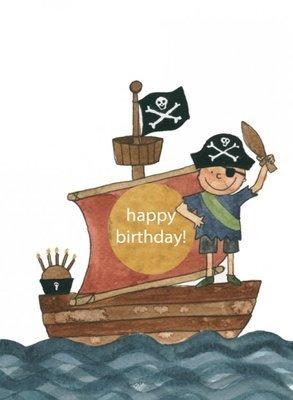 happy birthday pirate