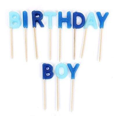 birthday boy candles