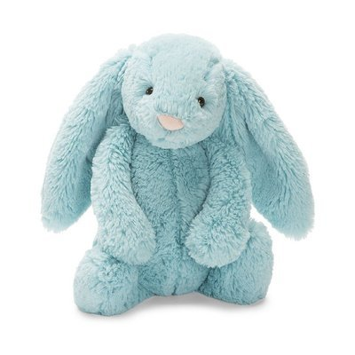 Bashful Aqua Bunny Small