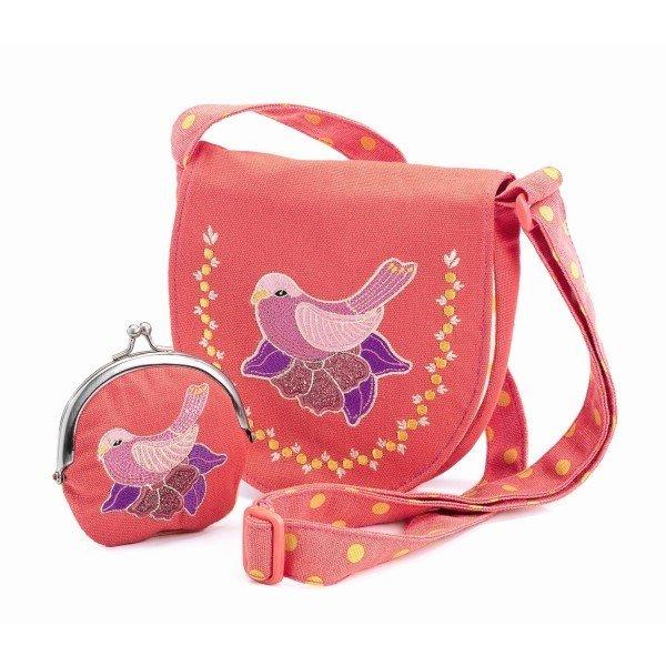 Bag & Purse Pink Bird