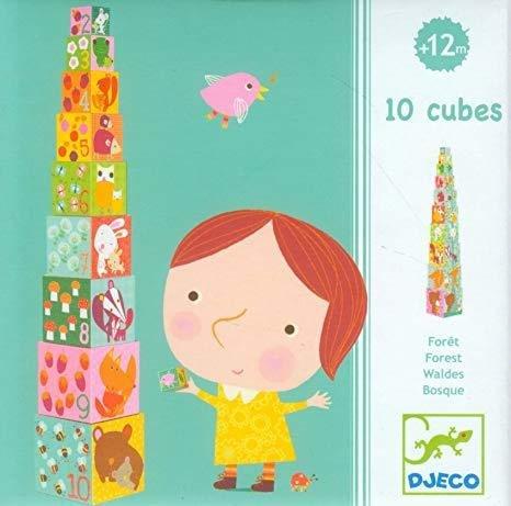 10 Cubes Forest