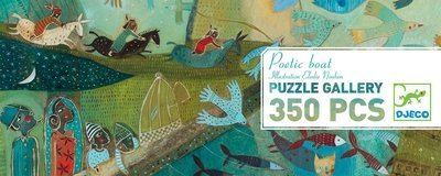 Puzzle Poetic Boat