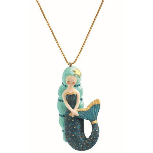Lovely Charms Necklace Mermaid