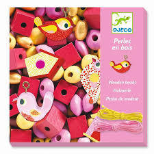 Wooden Beads Pink