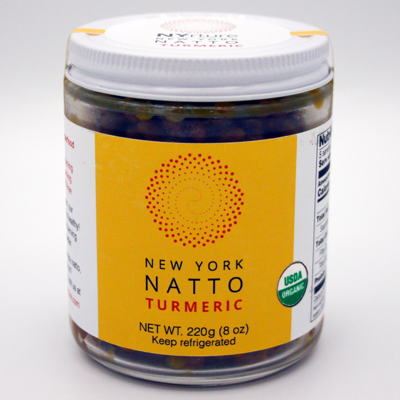 New York Natto Turmeric (220g, certified organic)