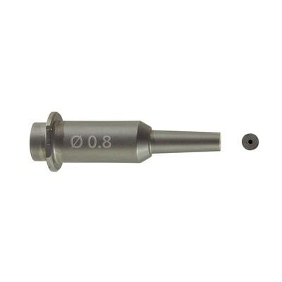 Renfert Green IT Sandblasting nozzle, 0.8 mm (25-70)