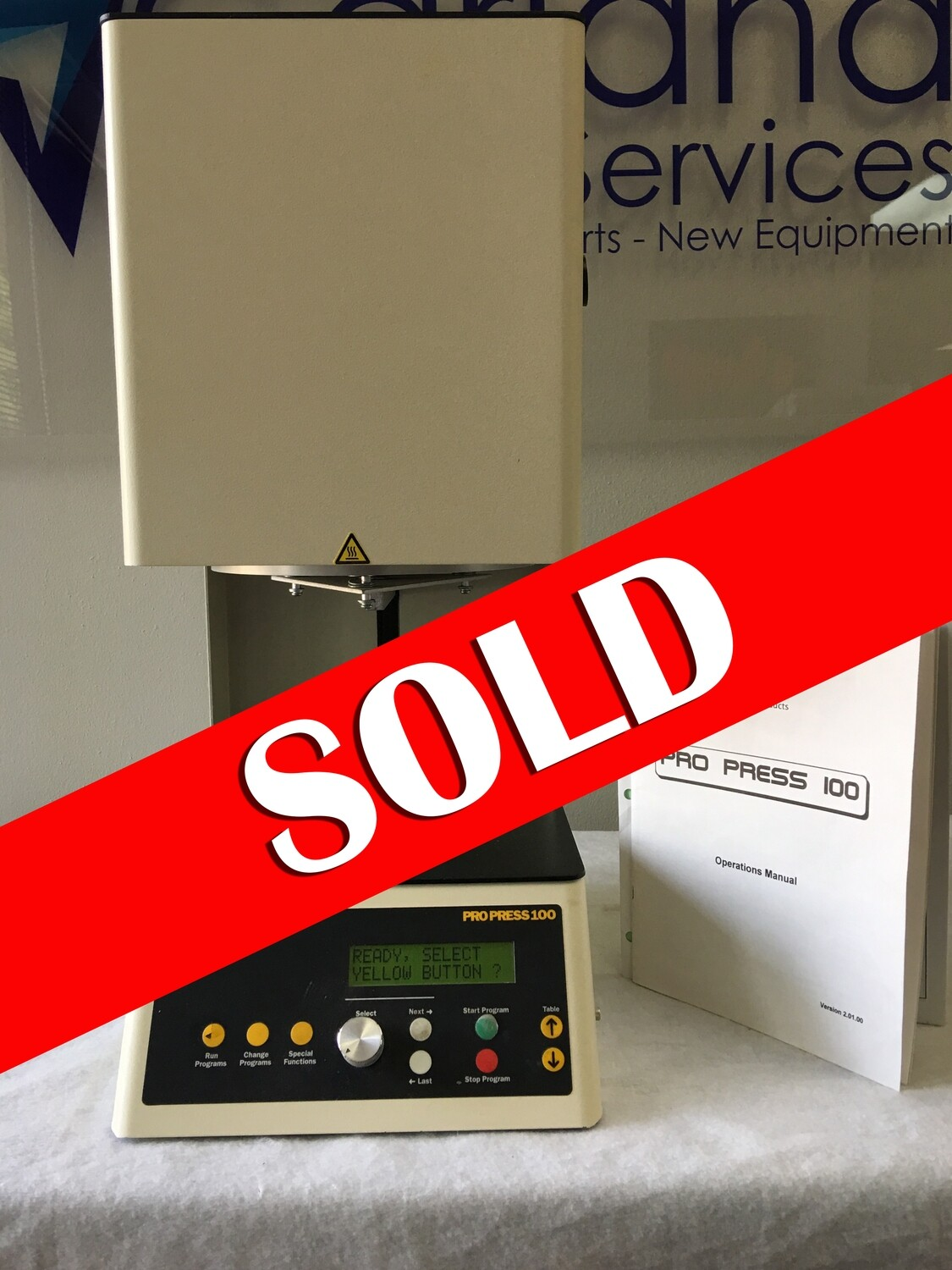 **SOLD** ProPress 100 Furnace (used)