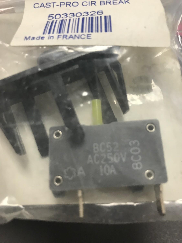 Jelenko Cast-Pro Circuit Breaker 230v Model Only
