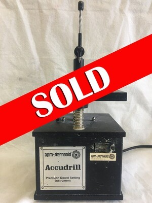 ** SOLD ** Sterngold Accudrill