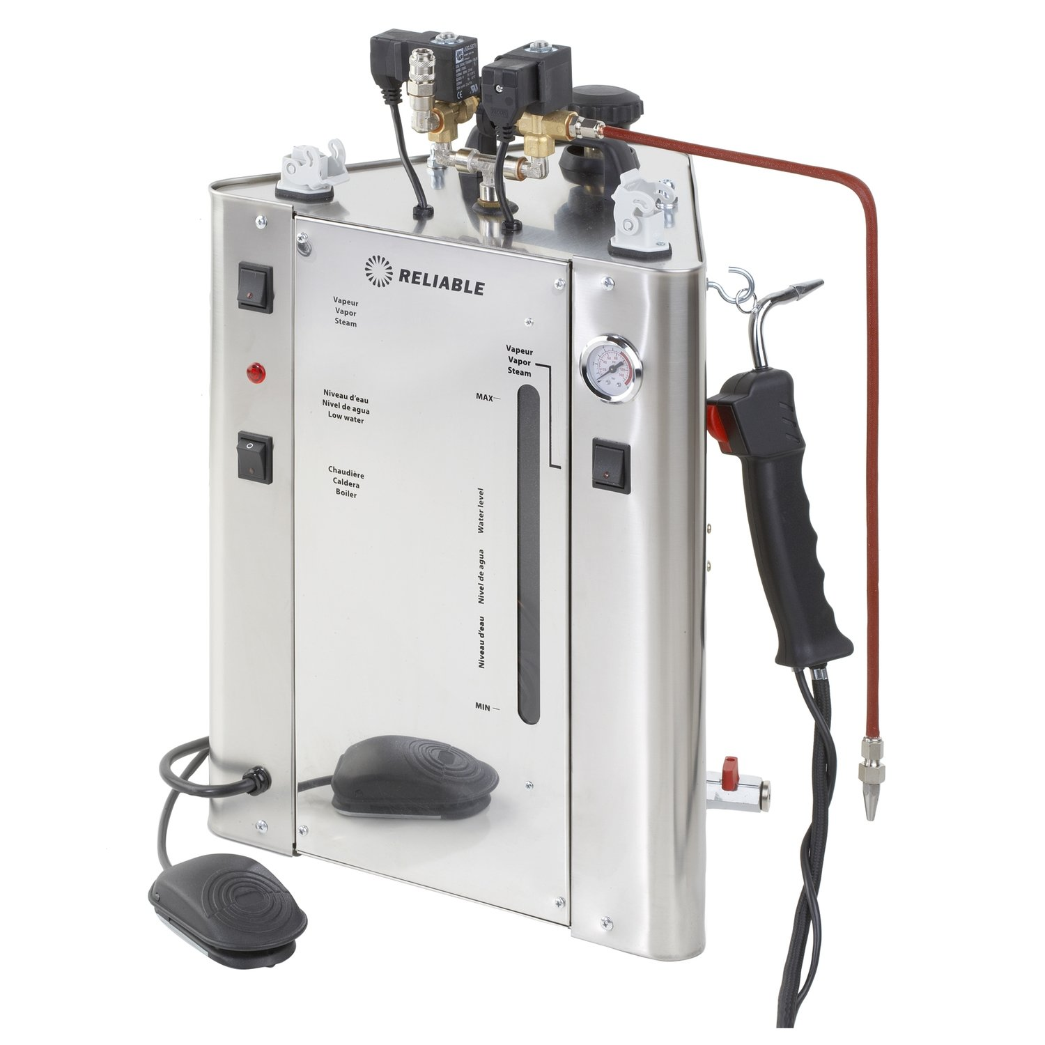 Reliable 7500CD 2 Solenoid Steamer