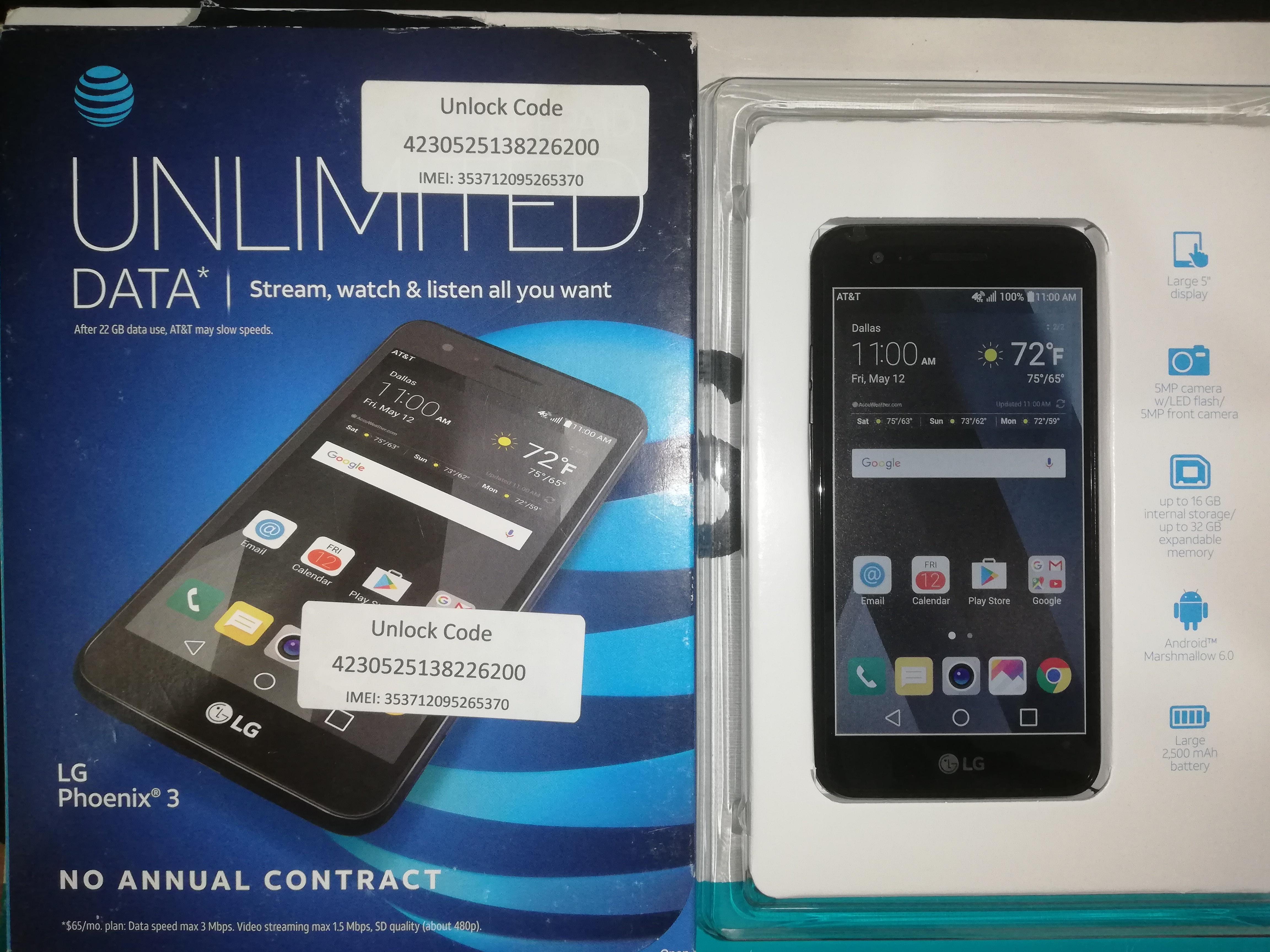 LG Phoenix 3 - Por encargo (Descuento $5) 10