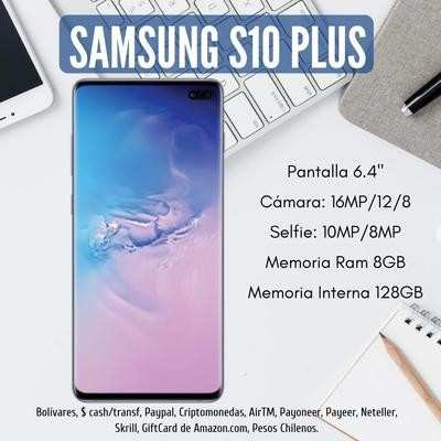 Samsung S10+ PLUS 128GB + 128GB SD GRATIS