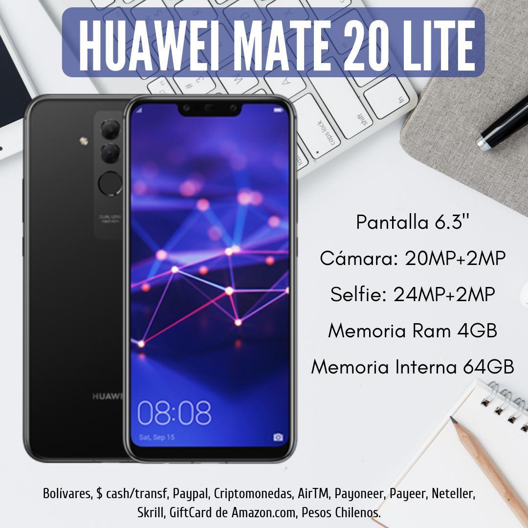 Huawei Mate 20 LITE BLACK huaweimate20lite