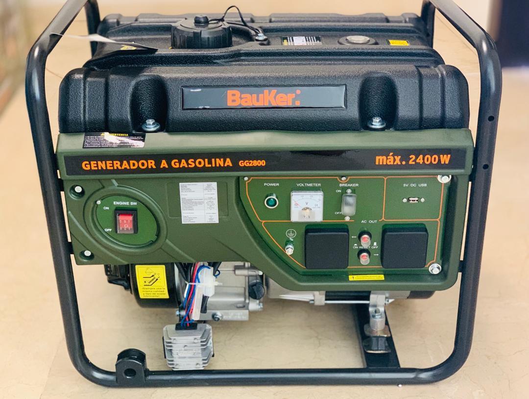 PLANTA ELECTRICA BAUKER MAX 2400W bauker2400