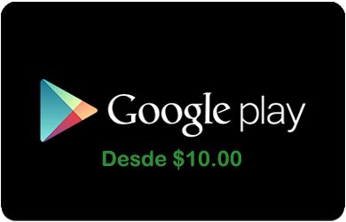Google Play Gift Cards GOOGLEPLAY