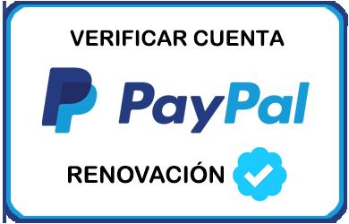 Renovar Verificacion PayPal VERF_PP_RENO