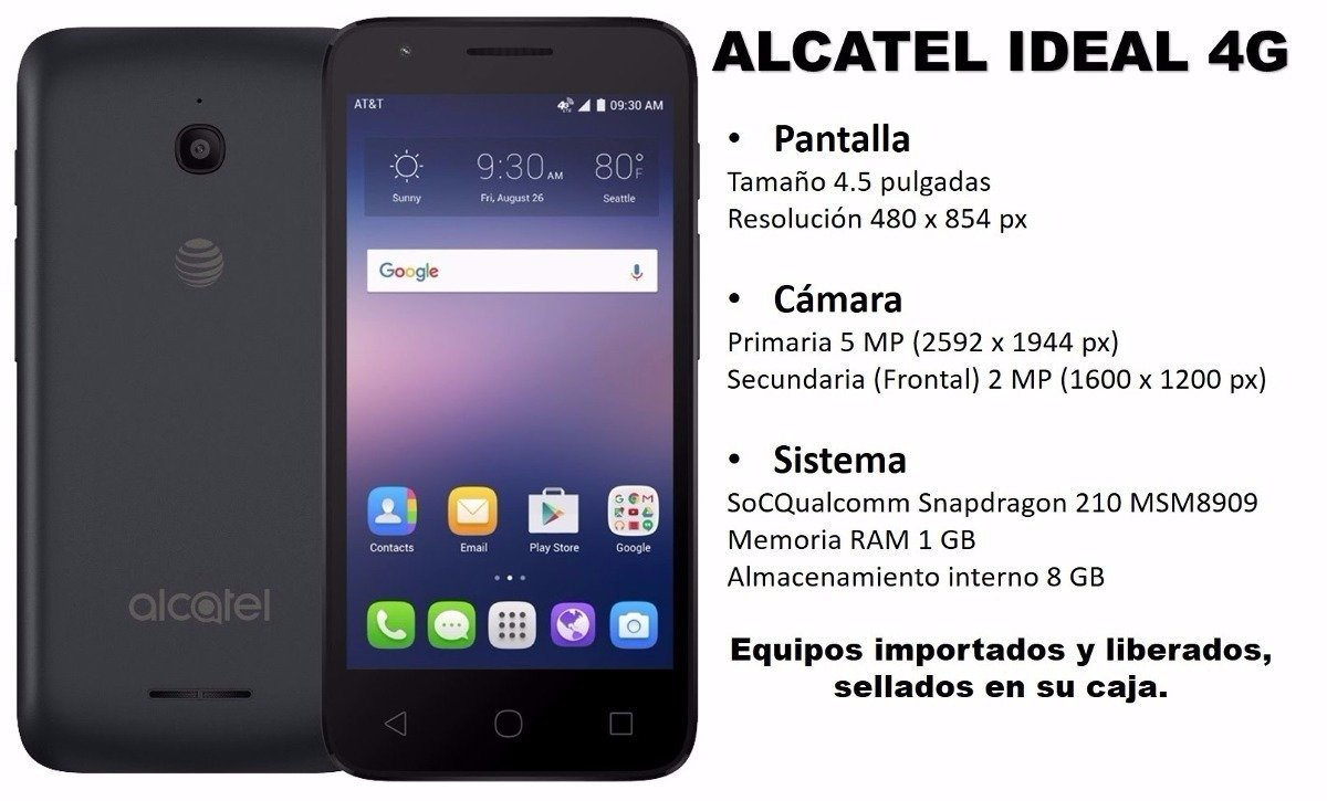 Alcatel Ideal - Smartphone ALCATELIDEAL