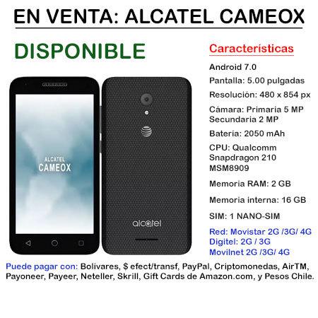 Alcatel CameoX- Smartphone ALCATELCAMEOX