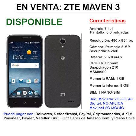 ZTE Maven 3 - Smartphone ZTEMAVEN3