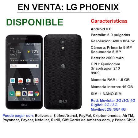 LG Phoenix 3 - Smartphone LGPHOENIX3