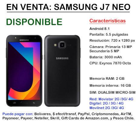 SAMSUNG J7 NEO DUAL-SIM - Smartphone J7NEO